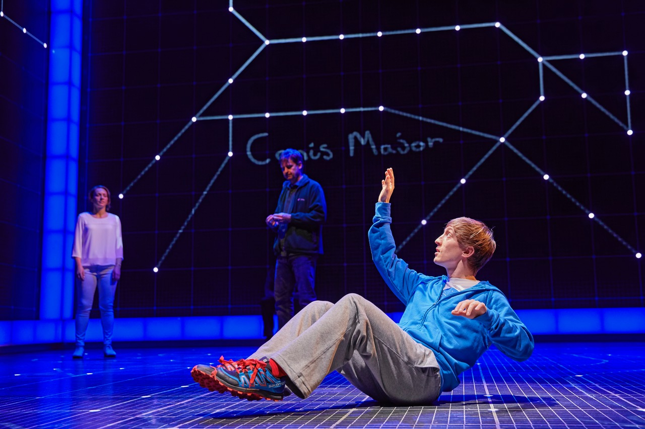 Sam Newton in The Curious Incident of the Dog in the Night-Time